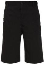 Damir Doma Peony Raw-edge Cotton Shorts