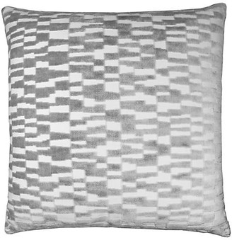 The Piper Collection Tanner 22x22 Pillow - Silver