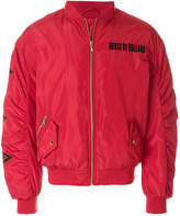 House of Holland padded bomber jacket
