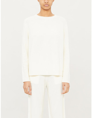 Chinti and Parker The Boxy round-neck cashmere jumper