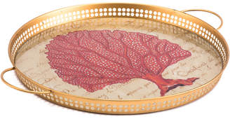 ZUO Red Coral Tray