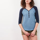 Roots Nina Baseball Henley
