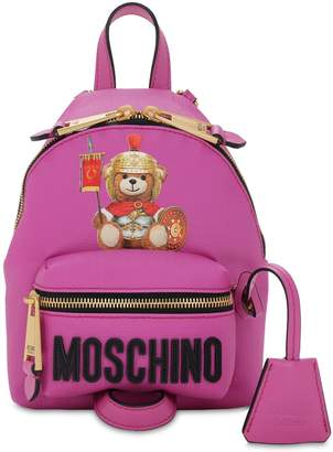 Moschino MINI TEDDY PRINTED PVC BACKPACK