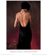 Generic The Black Drape Art Poster Print by Michael J. Austin, 16x20