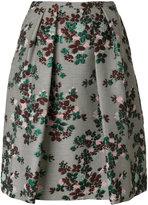 Essentiel Antwerp - Pacific full skirt - women - Cotton/Polyester/Acetate/metal - 36