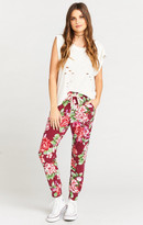 MUMU Sahara Sweatpants ~ Bloomsberry Spandy