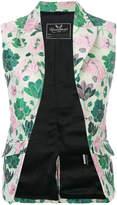 Unconditional floral jacquard waistcoat