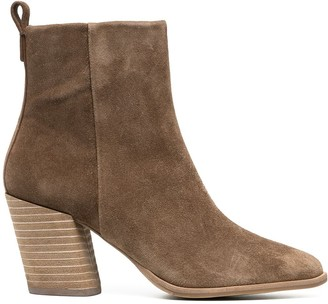 Tory Burch Block Heel Ankle Boots