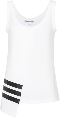 Y-3 Y 3 Cotton-blend tank top
