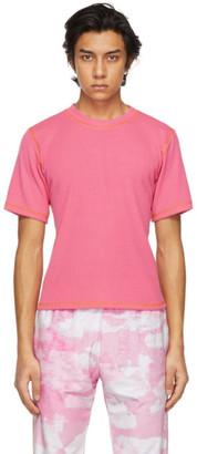 Phlemuns Pink Backless T-Shirt