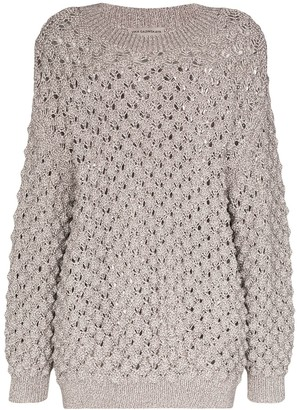 Vika Gazinskaya Oversized Knitted Jumper