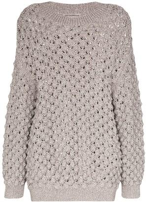 Vika Gazinskaya oversized knitted jumper