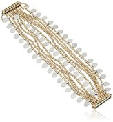 """Lucky Brand Two Tone Lucky Layer Bracelet, 7.5"""""""
