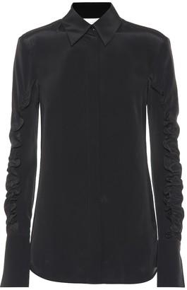 Victoria Victoria Beckham Silk-blend shirt