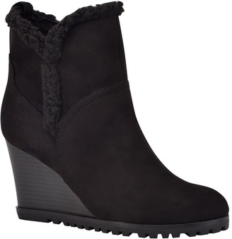 Nine West Camina Women's Wedge Ankle Boots