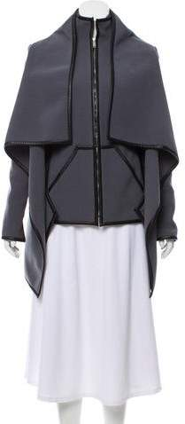 Gareth Pugh Paneled Wool Coat