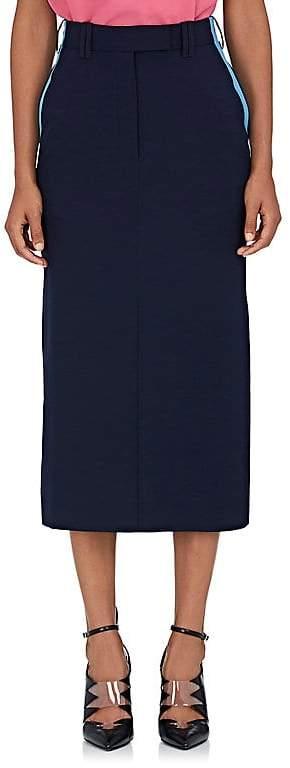 Calvin Klein Women's Colorblocked Piqué Pencil Skirt