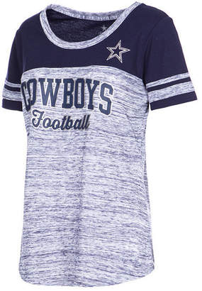 Authentic Nfl Apparel Women Dallas Cowboys Space Dye T-Shirt
