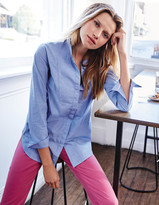 Boden The Collarless Girl Fit Shirt