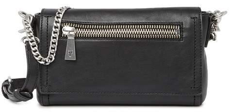 b5360353f160 Lena Chain Leather Crossbody Bag
