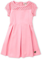 Juicy Couture Toddler Girls) Ponte Fit & Flare Dress