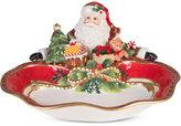 Fitz & Floyd Holiday Tidings Santa Server