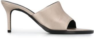 Ann Demeulemeester Open Toe 80mm Sandals