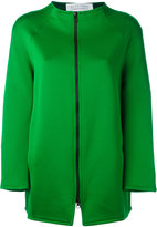 Gianluca Capannolo zipped jacket - women - Acetate/Polyester/Nylon/Viscose - 42
