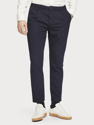Scotch & Soda Blake - Pleated Chinos Regular slim fit | Men