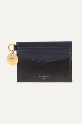 Givenchy Two-tone Leather Cardholder - Black