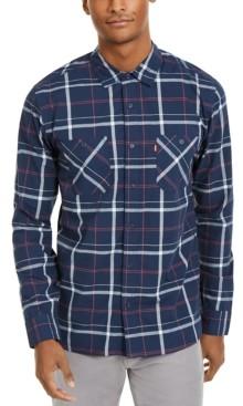 Levi's Men's Clive Plaid Woven Shirt
