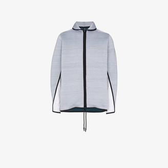 Byborre Grey Zip-Front Lightweight Jacket