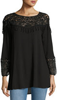 XCVI Jaci Embroidered Lace Top