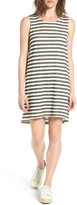 Caslon R) Tie Back Stripe Dress