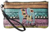 Sakroots Artist Circle Phone Charging Wristlet Wristlet Handbags