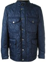 Burberry quilted jacket - men - Cotton/Lamb Skin/Polyester - M