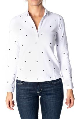 Sun 68 Sun68 Cotton Blend Polo Shirt