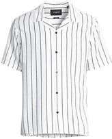 The Kooples Mens Mens Lost Paradise Print Button-Down Shirt with Classic Collar
