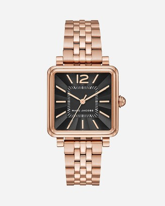 Express Marc Jacobs Rose Gold Vic Watch