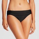 Merona Women's Foldover Swim Hipster Bikini Bottom