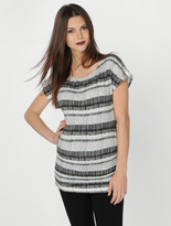 A Pea in the Pod Ruched Maternity T Shirt