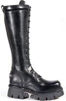 New Rock Men's Mettalic Leather Boots M.235-S1 (EU, )