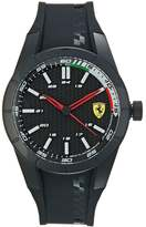 Ferrari Red Rev Watch Black