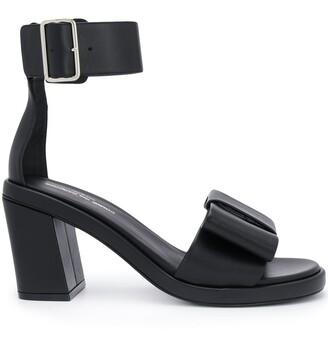 Comme des Garcons Ankle Strap Bow Sandals
