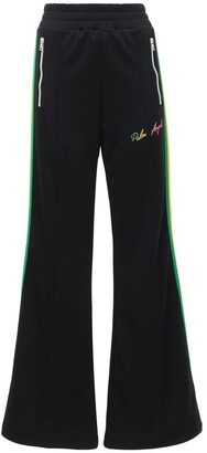 Palm Angels Miami Logo Acetate Wide Pants