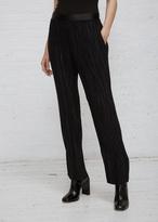 Haider Ackermann black / tankay black plisse trousers