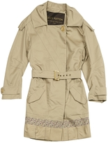 Valentino Beige Cotton Trench coat