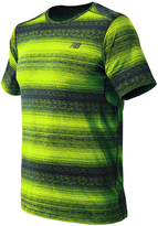 New Balance Men's Kairosport Striped Tee