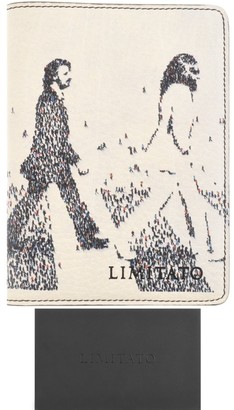 Limitato The Fab Four Passport Holder White