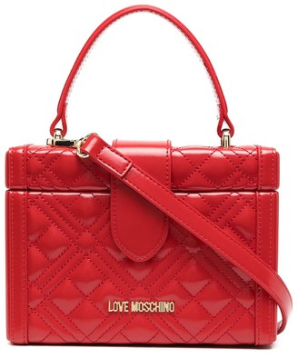 Love Moschino Quilted Box Bag